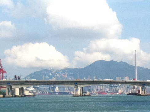 Hong Kong Island from Tsing Yi